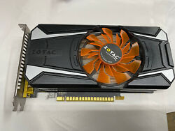 Zotac Nvidia GeForce GTX750 Ti 2GB OC Gaming Graphics Card GPU D Fan for parts $45.99