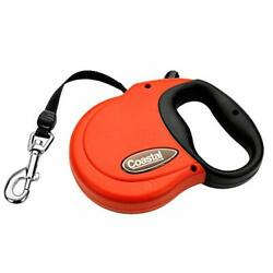 Coastal Power Walker Dog Retractable Leash Red Up to 32 lbs Small $12.00