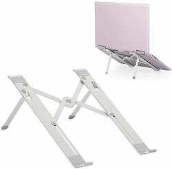 Laptop Stand Portable Foldable Aluminum Adjustable 4 Levels Height MacBook Stand $14.99