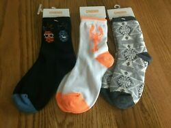 NEW Gymboree Boys Socks Lot Of 3 Size Small Shoe Size 11 12 Fair Isle Pineapple $8.99