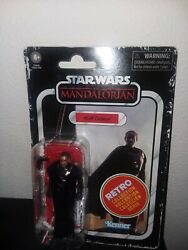 Star Wars Moff Gideon Retro Collection The Mandalorian Action Figure Brand New $18.95