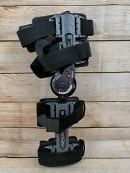 DonJoy Knee Brace Flexion Extension Adjustable Locking Left Right VERY CLEAN $27.00