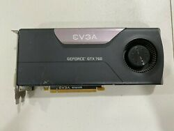 EVGA GeForce GTX 760 2GB Blower NVIDIA Gaming Graphics Card GPU $95.00