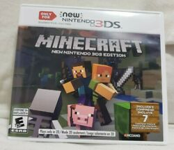 Minecraft for New Nintendo 3DS Nintendo 3DS Tested Working $25.00