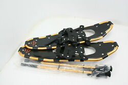 Gpeng Lightweight Aluminum Alloy All Terrain Snow Shoes w Poles 30quot; Ergonomic $72.36