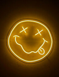 Nirvana Smile Neon Sign for Wall and Bedroom for home music light lamp $99.00