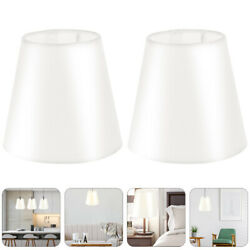 2pcs Decorative Lightweight Cloth Lamp Cover for Wall Lamp Chandelier $12.11