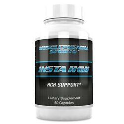 Insta HGH Booster Natural Anti Aging Supplement For Men and Women 60 Caps 30 Day $24.95