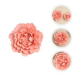 1Pc Creative Pretty Ceramics Flower Crafts Flower Wall Decor for Bedroom Wall $21.88