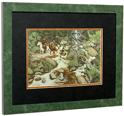 BEV DOOLITTLE The Forest Has Eyes Detail Matted amp; Framed Art Print $79.99