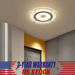 Acrylic Modern LED Chandelier Light For Living Room Ceiling Lamp Remote Fixture $27.55
