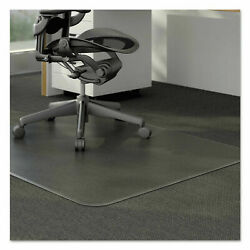 60quot; X 48quot; Clear PVC Carpet Rug Protective Chair Mat Pad Rolling For Floor Office $38.79
