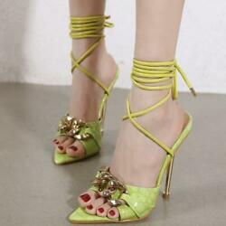 Womens Fashion Summer Peep Toe China Strappy Sandals High Heels Sexy Party Shoes $45.99