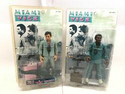 Mezco Miami Vice Crockett and Tubbs Figures w Accessories Sealed NIB Other $149.95