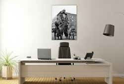 DMX and Dogs Canvas Décor Motivation Art Rap Music Print Wall Room Painting Home $126.49