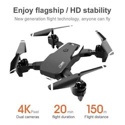 S60 FPV RC Quadcopter Drone with 4K HD WIFI Dual Camera Headless Mode4DRC $69.99