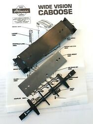 Athearn Wide Vision Caboose VALUE PACK Floor Weight amp; Underframe Parts NEW $14.77