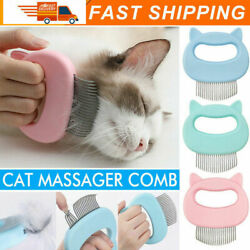 Remove Pet Cats Massage Hairs Brush Shell Comb Grooming Cleaning fur Shedding $5.99