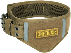 Tough Dog Collars Military Heavy Duty Tactical Collar Metal Buckle With Control $25.99
