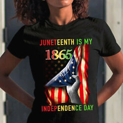 Juneteenth is my independence day 1776 funny t shirt S 5XL $15.99