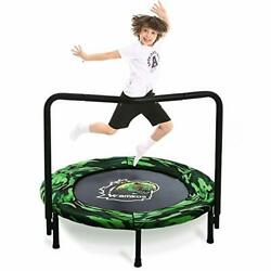 2021 Upgraded Dinosaur Mini Foldable Trampoline for Kids with Handle $88.74