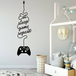 Design Gamer Wall Stickers Personalized Creative Boys Bedroom Decals Decal Mural $6.61