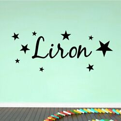 Beauty Name Wall Stickers Personalized Creative Kids Rooms Diy Home Decoration $7.16