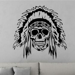 Creative Skull Design Wall Sticker for Living Room Removable Vinyl Wall Decals $6.77