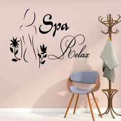 Personlized spa Vinyl Kitchen Wall Stickers Wallpaper For Kids Rooms Decoration $10.29