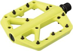 crankbrothers Stamp 1 Mountain Bike Pedals Large Citron $24.98
