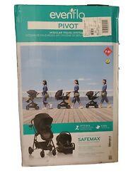 Evenflo Pivot Modular Travel System with safe max rear facing infant car seat. $185.00