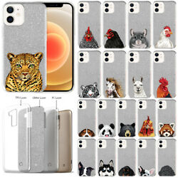 For Apple iPhone 12 12 Pro 2020 6.1quot; Animal Glitter TPU Silicone Case Cover $10.99