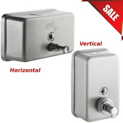40 oz. Commercial Liquid Soap Dispenser Commercial Stainless Steel Wall Mounted $48.46