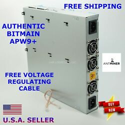 NEW BITMAIN Antminer Authentic APW9 S17e T17e S17 T17 Free voltage cable $449.99