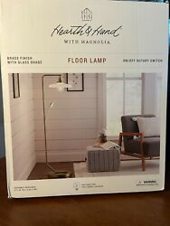Brass Floor Lamp Hearth amp; Hand™ with Magnolia fast free same day shipping $54.99