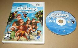 Croods: Prehistoric Party for Nintendo Wii Fast Shipping $9.95