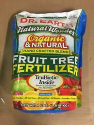 Dr. Earth 708P Organic 9 Fruit Tree Fertilizer In Poly Bag 4 Pound $17.28