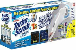 Turbo Scrub 360 Cordless Scrubber for Floor and Tile White FREE SHIPPING $30.00