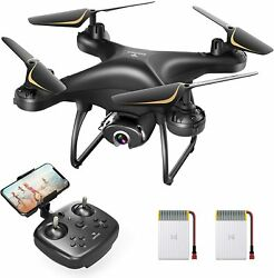 SNAPTAIN SP650 RC Drone HD 1080P Live Video Camera FPV Voice Control Quadcopter $45.39