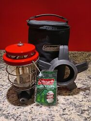 Coleman Northstar 2500 Propane Lantern Globe with Carrying Case and Extra Mantle $79.99