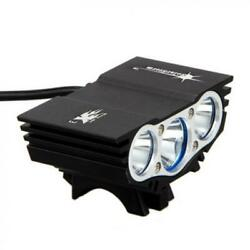 Rechargeable XML LED Mountain Bike 6400mAh Battery Light Bicycle Torch HeadLight $22.93