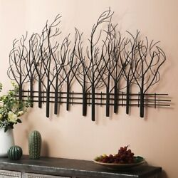 Farmhouse Wall Decor Metal Country Kitchen Dining Living Rm Tree Sculpture 28x48 $114.95