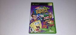 Nickelodeon Party Blast Microsoft Xbox 2002 Video Game Complete CIB Tested $10.87