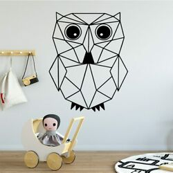 Owl Wall Sticker Decal Removable Vinyl Mural Poster Wall Decorations Art Decal $7.01
