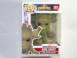 Funko Pop Games: Marvel Contest of Champions King Groot 297 FLAWED $10.49