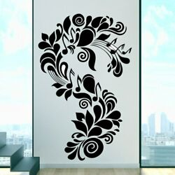 Large Size Artistic Plant Vinyl Kitchen Wall Sticker Wallpaper For Baby Kid Room $8.87