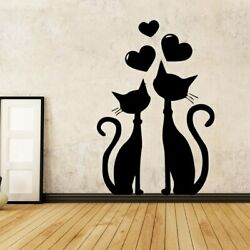 American Style girl Cartoon Wall Decals Pvc Mural Art Poster For Bedroom Sticker $7.15