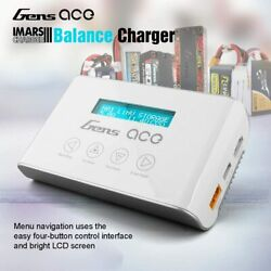 Gens Ace RC battery Balance Charger discharger LiPo LiFe LiHV NiMh 100W LCD $59.99