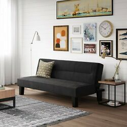 SLEEPER SOFA BED FUTON Convertible Couch Lounger Modern Living Room Loveseat NEW $155.95