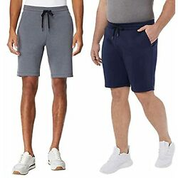 32 DEGREES Cool Men#x27;s 2 Pack Breathable Tech Shorts $15.81